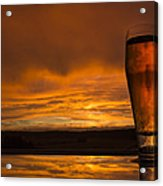 The Perfect German Beerset Acrylic Print by Laura Dixon