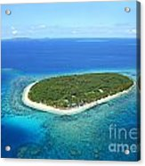 The Perfect Island Acrylic Print by Lars Ruecker