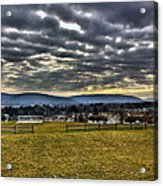 The Perfect View Acrylic Print