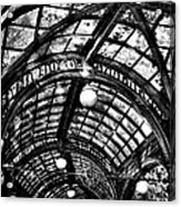 The Pergola Ceiling Acrylic Print