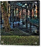 The Pergola In Pioneer Square IIi Acrylic Print