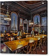 The Periodicals Room At The New York Public Library Acrylic Print