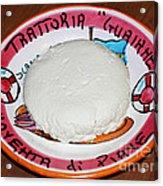 The Perogi Cheese Story Acrylic Print