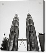 The Petronas Towers Malaysia Acrylic Print
