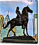 The Philadelphia General Acrylic Print