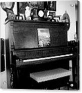 The Piano And Clarinet  Acrylic Print