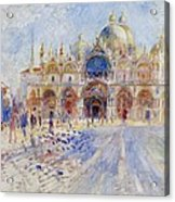 The Piazza San Marco Acrylic Print