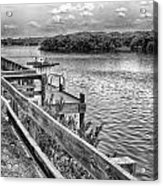 The Pier At Channel 4 Acrylic Print