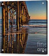 The Pier At Goleta Beach Acrylic Print