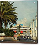 The Pier 2 -  St. Petersburg Fl Acrylic Print