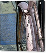 The Pink Bicyclette Acrylic Print
