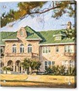 The Pink Palace Museum Memphis Tn Usa Acrylic Print