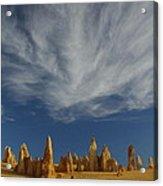 The Pinnacles 2am-111015 Acrylic Print