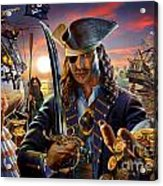 The Pirate Acrylic Print by Adrian Chesterman