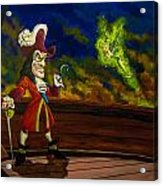 The Pirate And The Fairy Acrylic Print