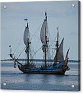 The Pirate Ship Acrylic Print by Cecelia Helwig