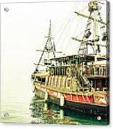The Pirate Ship. Acrylic Print