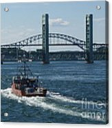 The Piscataqua River Acrylic Print