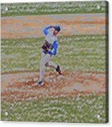 The Pitcher Digital Art Acrylic Print