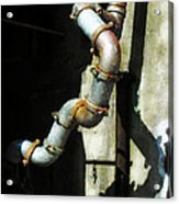 The Planning Department's Sewage Pipe Acrylic Print