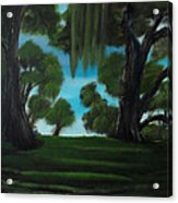 The Plantation Acrylic Print