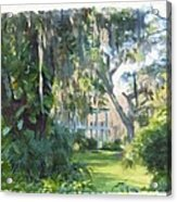 The Plantation Acrylic Print