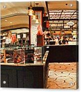 The Plaza Food Hall Acrylic Print