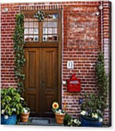 The Plumber's Home Acrylic Print