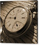 The Pocket Watch Acrylic Print by Mike McGlothlen