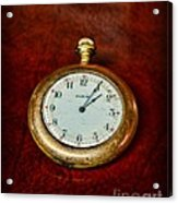 The Pocket Watch Acrylic Print