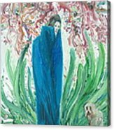 The Poet And The Dog Acrylic Print