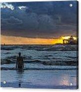 The Polar King From Crosby Beach Acrylic Print