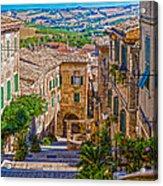 The Polenta Well Acrylic Print