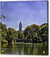 The Pond - Central Park Acrylic Print