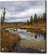 The Ponds Near Raquette Lake Acrylic Print