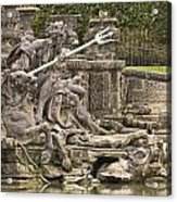 The Ponds Of Versailles - 1  Acrylic Print