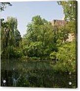 The Pool Central Park Acrylic Print