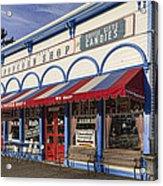 The Popcorn Shop Acrylic Print by Dale Kincaid