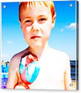 The Popsicle Acrylic Print by Edward Fielding