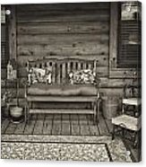 The Porch Acrylic Print