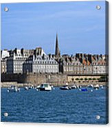 The Port Of St Malo France Acrylic Print