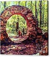 The Portal To Love Life Peace 1 Acrylic Print