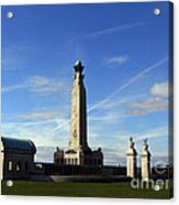 The Portsmouth Naval Memorial Southsea Acrylic Print
