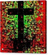 The Potted Cross Acrylic Print