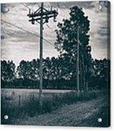 The Power Lines  Acrylic Print