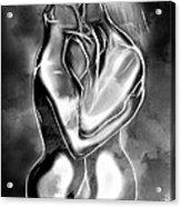 The Power Of Love Acrylic Print
