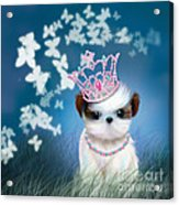 The Princess Acrylic Print