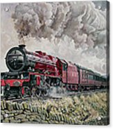 The Princess Elizabeth Storms North In All Weathers Acrylic Print by David Nolan