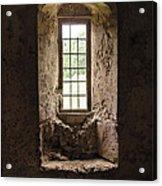 The Priory Window Acrylic Print