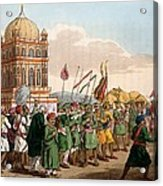 The Procession Of The Taziya, From The Acrylic Print